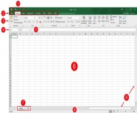 Microsoft Excel 2016 Interface